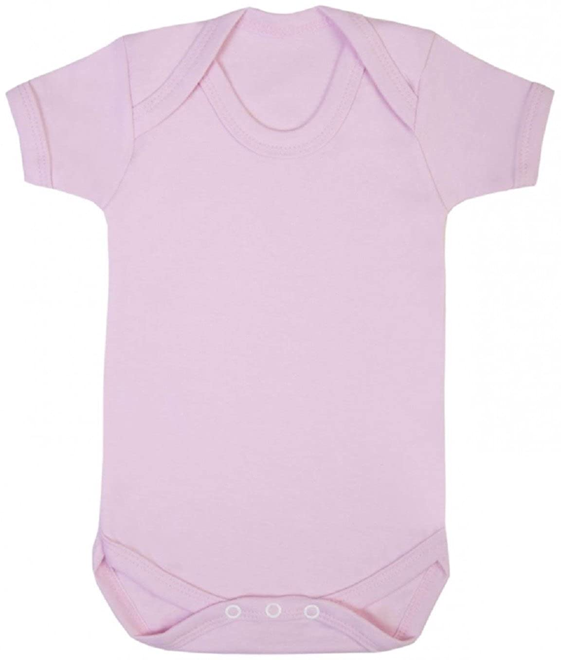 Purple Penguin Clothing Baby Grow - Plain (Blank) In 14 Fantastic Colours