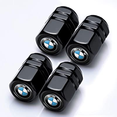 ChuangWanYue 4 Pcs Tire Valve Stem Caps Suit for BMW Accessories: Automotive