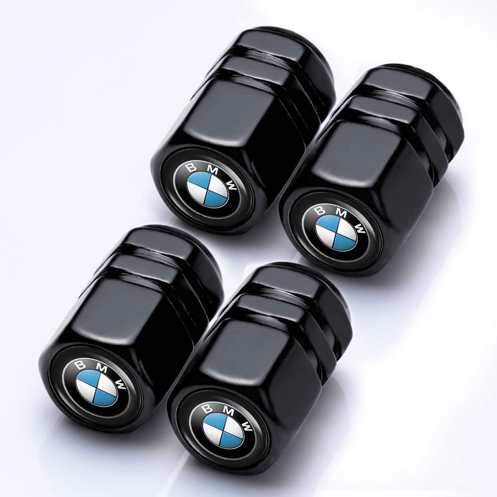ChuangWanYue 4 Pcs Tire Valve Stem Caps Suit for BMW