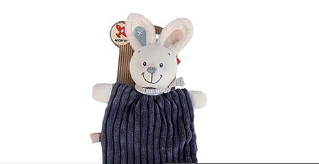 Diseño de conejo y pantalones vaqueros para muñeco manta de ...