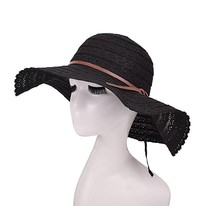 3c600545ebc Image Unavailable. Image not available for. Color  Summer Sun Hats for Women  Lace Cotton ...