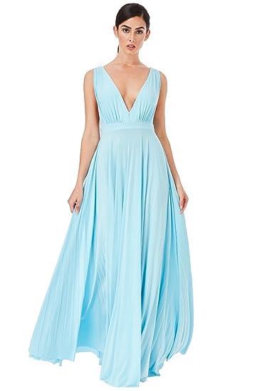 Pleated Oscar Maxi Dress