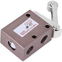 Válvula mecánica de rodillo, PT 1/4 Rosca Tipo de rodillo Válvula neumática mecánica 2 posición 3 vías