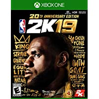 NBA 2K19 20th Anniversary Edition - Xbox One