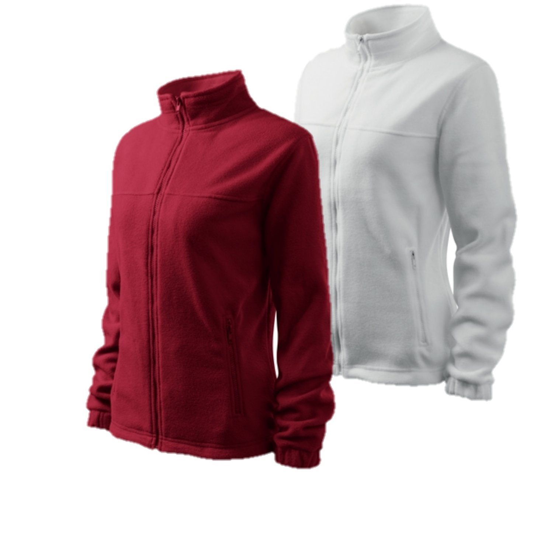 Adler 2er Pack Damen Fleecejacke Outdoor Pullover Fleece WearYourBrand by Adler