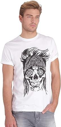 t-shirt tête de mort homme 6