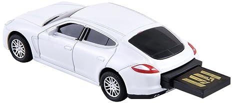 Autodrive 92907W - Memoria Flash USB 2.0 (8 GB), diseño de Porsche Panamera