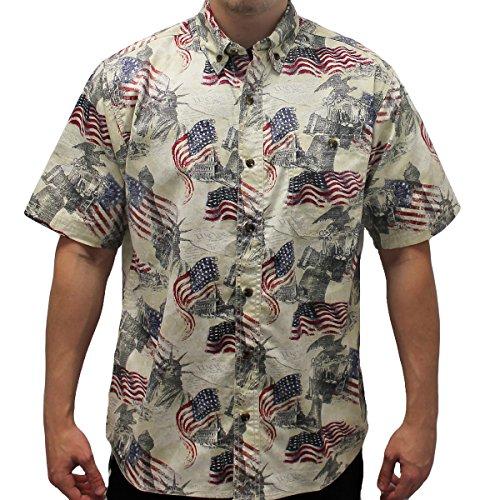 7d8c8fbd598 Men s Liberty Button Down Hawaiian Shirt