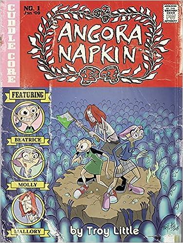Book Angora Napkin