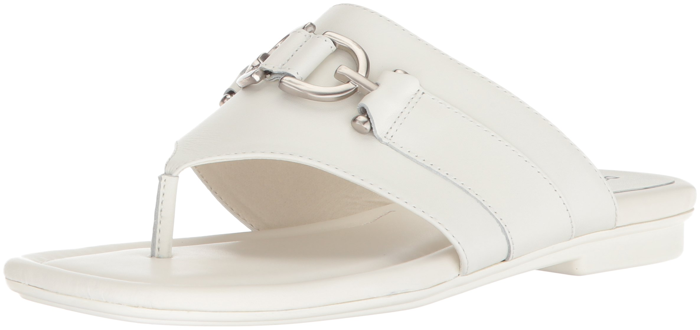Donald J Pliner Women's Kent Slide Sandal, Bone, 10 Medium US