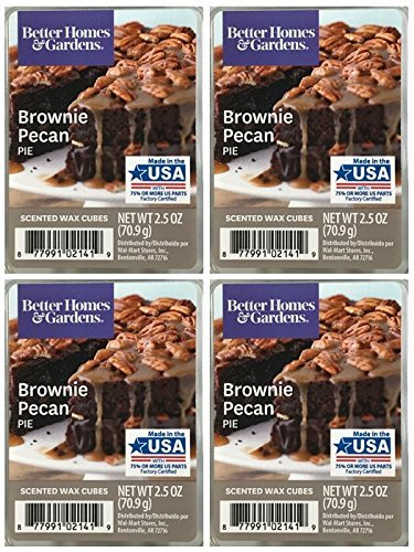 (Better Homes and Gardens Brownie Pecan Pie Scented Wax Cubes - 4-Pack)