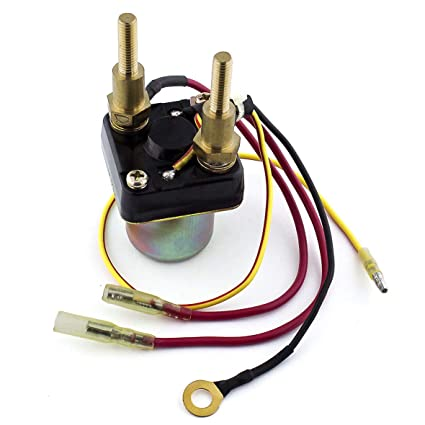 Amazon.com: CALTRIC Starter Solenoid Relay FITS KAWASAKI JS440 440 on starter relay fuse, starter relay grounding, electric motor wiring, starter relay welding, starter relay schematic, starter solenoid, diode wiring, starter relay switch, boat motor wiring, starter relay bypass, starter relay operation, 12v dc wiring, stator wiring, starter relay cable, starter kill relay diagram, starter clutch, starter relay clicking, starter relay outlets, starter relay test, starter relay circuits,