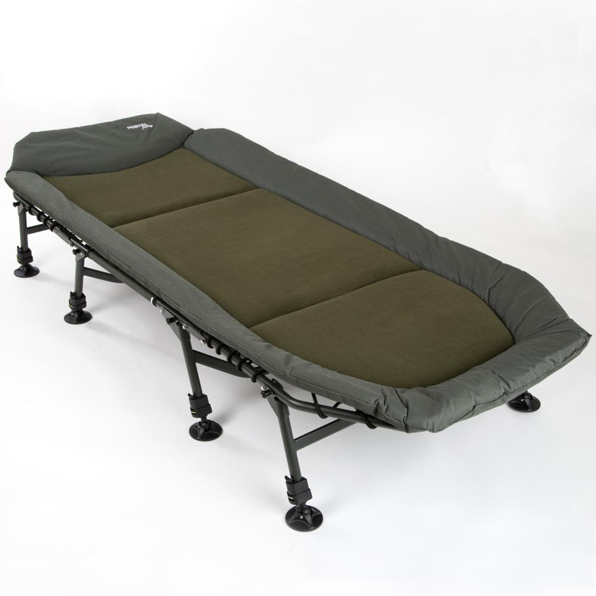 Mostal Alu King Size Bedchair 8-Bein Liege Deluxe Angelliege XXL
