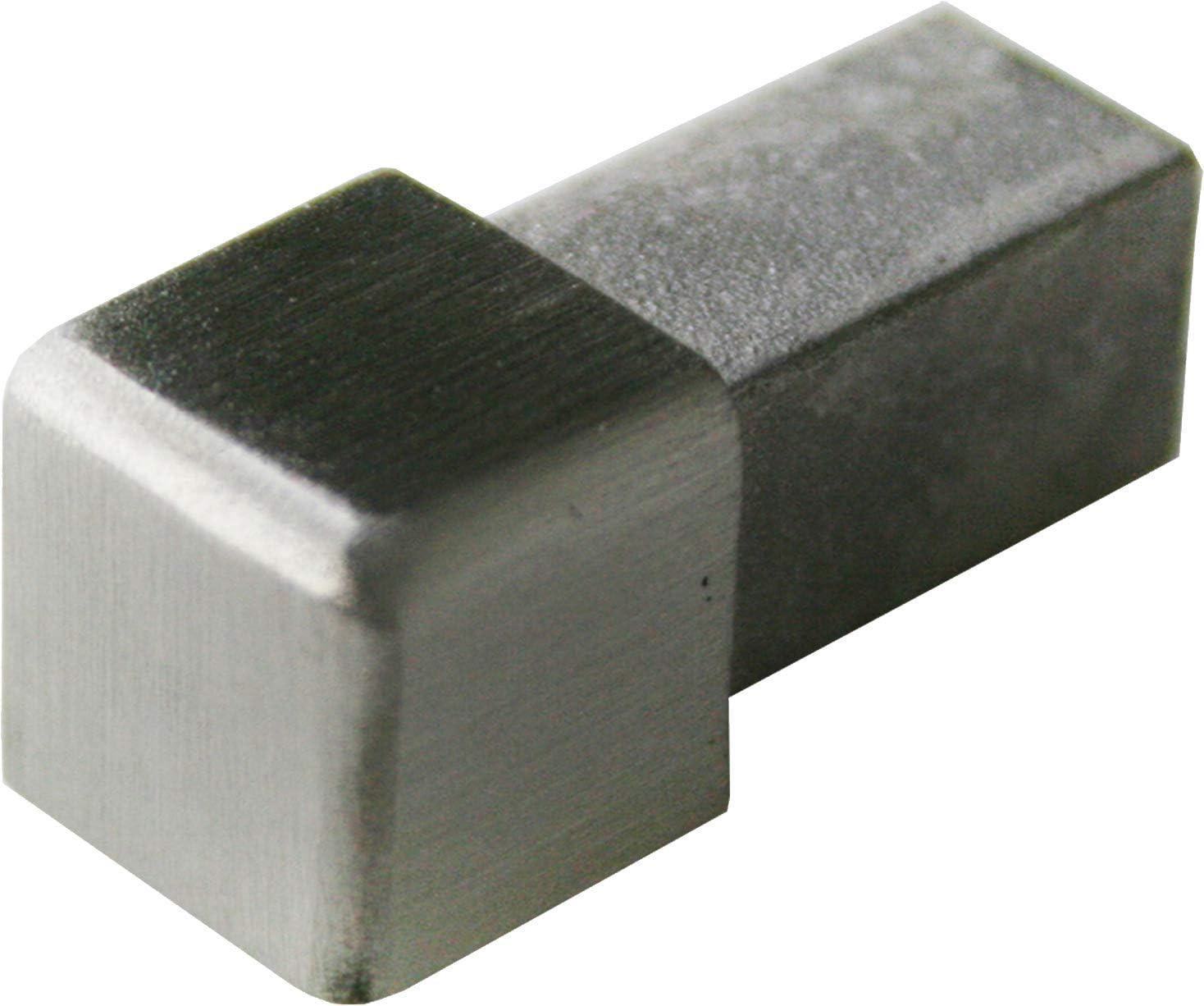 materiale 1mm non /è possibile torcersi 2,5 METRO profili 250cm Altezza: 8mm PREMIO profili per pavimenti quadro acciaio inox V2A satinate