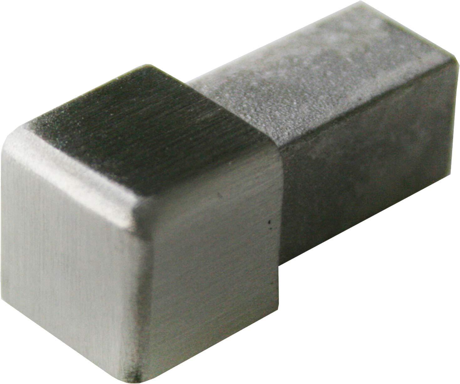 2,5 METRO materiale 1mm Altezza: 12,5mm PREMIO profili per pavimenti quadro acciaio inox V2A satinate non /è possibile torcersi profili 250cm
