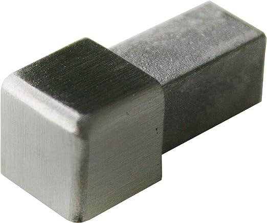 PREMIO ángulo - H: 10mm cuadrados inox acero V2A cepillado ...