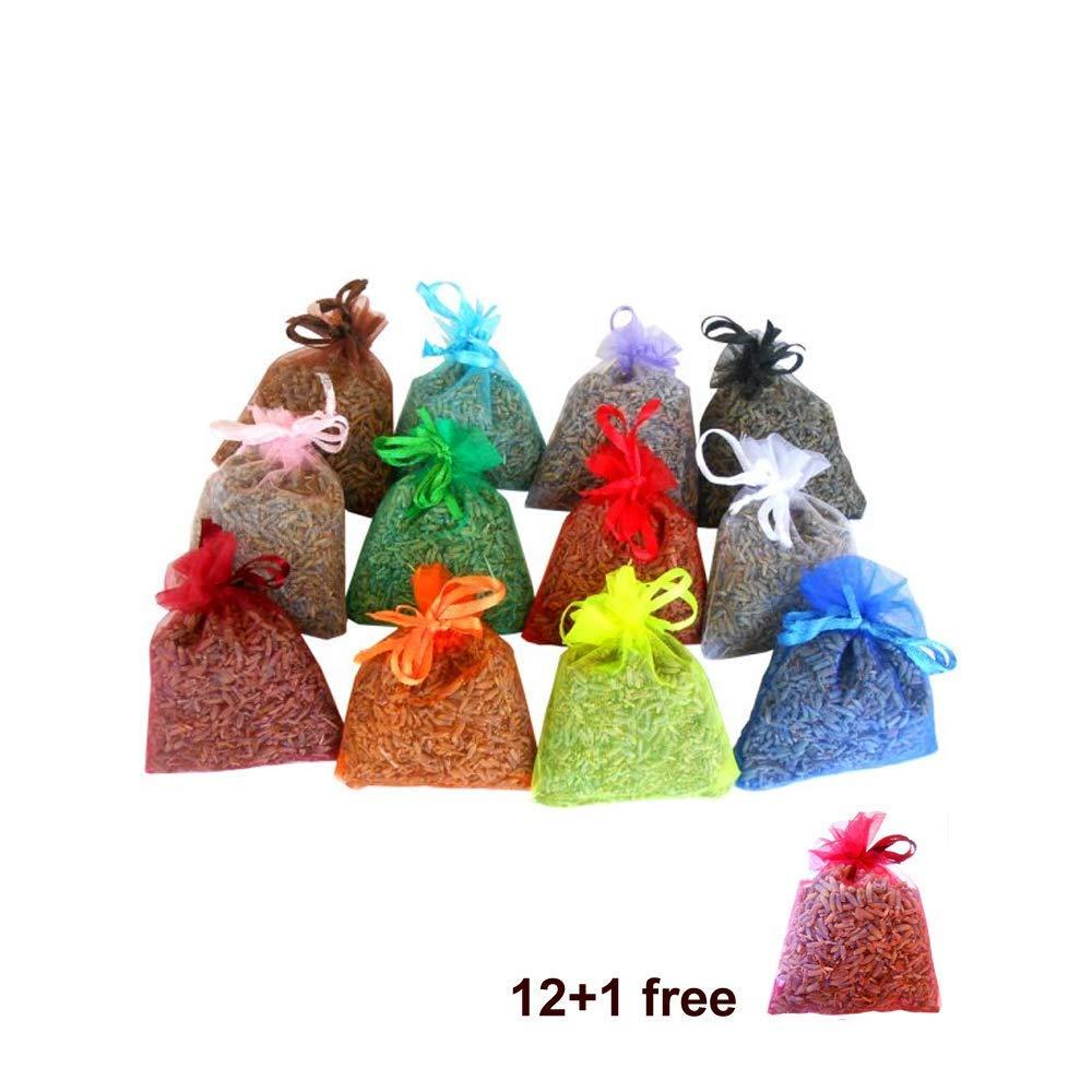 12 saquitos +1 gratis de lavanda ecológica muy aromática ...