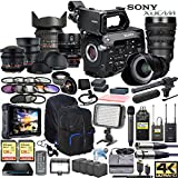 Sony PXW-FS7M2 XDCAM Super 35 Camera & Sony FE PZ 18-110mm OSS G Lens w/Full Range CINE Lens Cinema Bundle