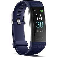 Hartslaghorloges met bloeddrukmeter voor mannen/vrouwen waterdichte Smartwatch fitnesstracker (hartslagmeters) workout…