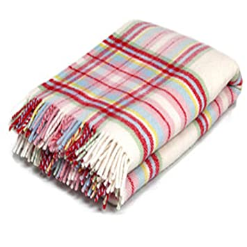 Ikea Decke Tagesdecke Wolldecke Schurwolle Rosali Multiruta 150x240