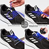 Airror Elastic No Tie Shoelaces for Kids and