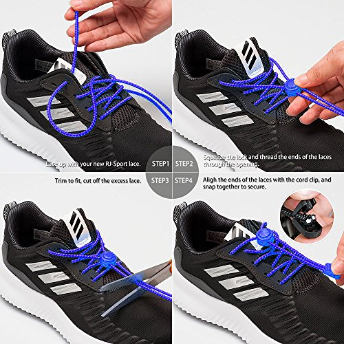 b80e2dd4aa8d Airror Elastic No Tie Shoelaces for Kids and Adults