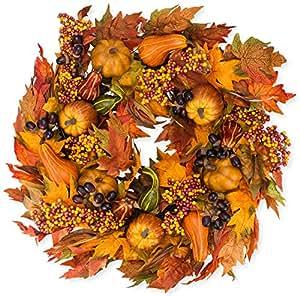Amazon.com: The Wreath Depot Montgomery Hollow Silk Fall