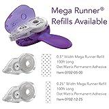 """Xyron Mega Runner,  .5"""" x 100', Adhesive Dispenser, Refillable, Tape Runner"""