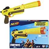 Hasbro NERF Fortnite SP-L Blaster with Detachable Barrel and 6 Official Fortnite Elite Darts for Youth, Teens, Adults Multicolour