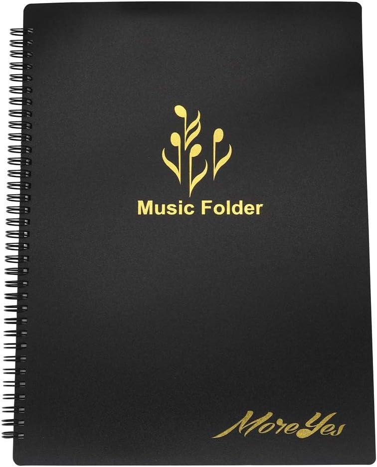 MOREYES Music Folder Modify Piano Score Mark Music Clef Sheet 20 Pages