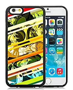 For iPhone 6,100% Brand New Persona 4 Black For iPhone 6(4.7) TPU Case