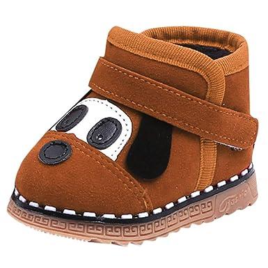a841c6fe43136 Bambini Ragazzo Ragazza Stivali da Neve Bambino Scarpe Invernali  LianMengMVP Stivaletti Neonato Fiore Inverno Caldo Sport Scarpe Stivali da  Neve Sneakers  ...