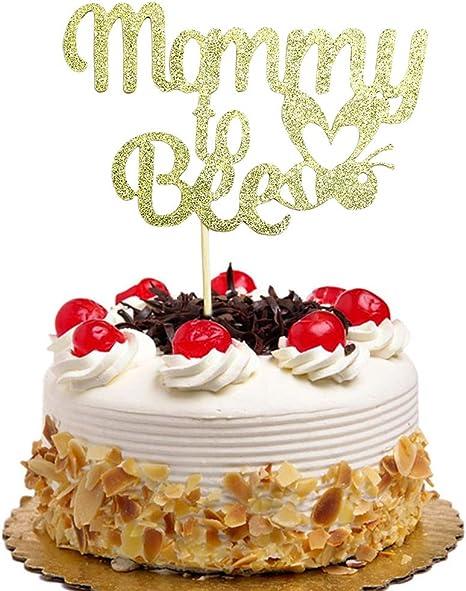 Birthday Party Decoration Supplies Gold Glittery Handmade /(Blue SHAMI First Birthday Cake Toppers, Happy Birthday Cake Bunting Topper Crown Cake Topper 1th Cake Topper, Birthday Party Decoration Supplies Gold Glittery Handmade (Blue