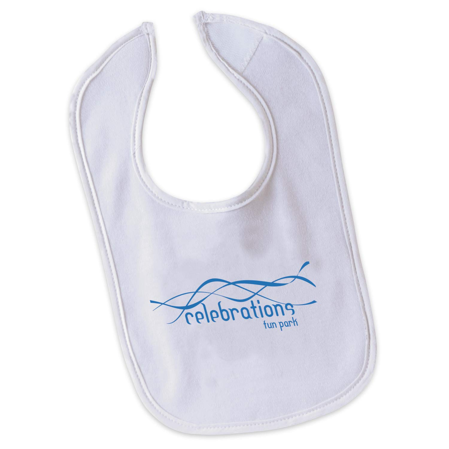 BIC Graphic Baby Bib White 500 Pack