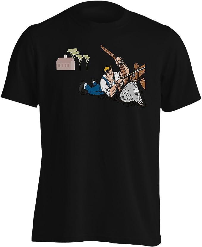 INNOGLEN Granjero, Agricultor, Hombre, Lucha, Lucha, Nuevo Camiseta de los Hombres d830m: Amazon.es: Ropa y accesorios