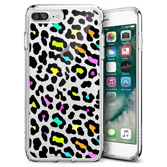 lepord print iphone 8 plus case