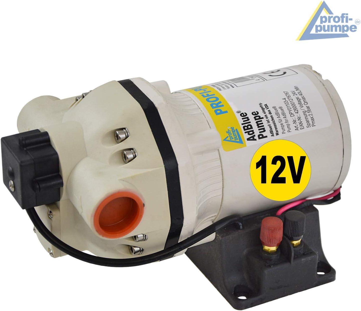 AdBlue/® 12V Urea Bomba Tanking Set Membrana Bomba Qu/ímica Autocebante Potente Motor El/éctrico con Bobina de Cobre