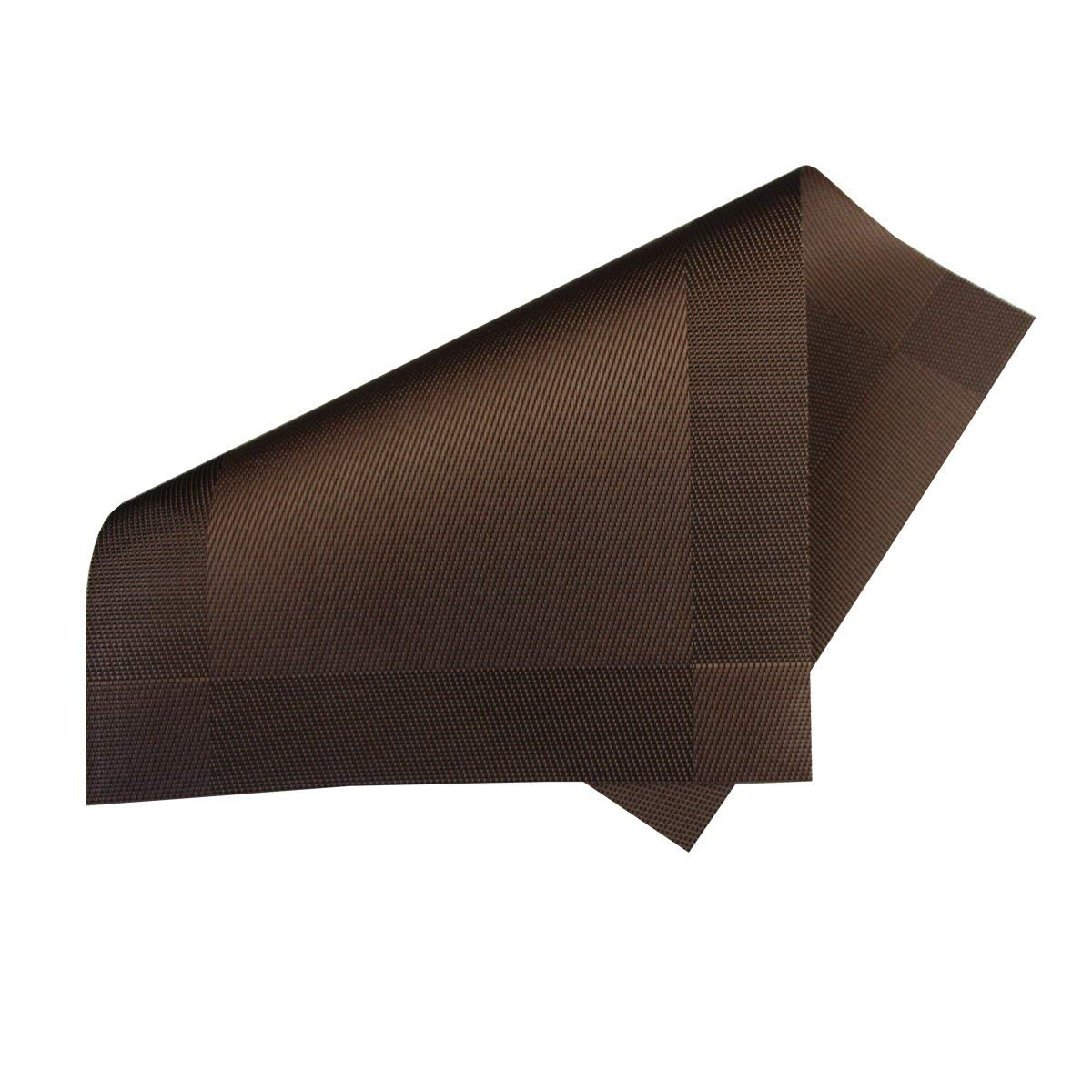Xugoly Vinyl Table Mats, 1812 inch, Brown by Xugoly (Image #2)