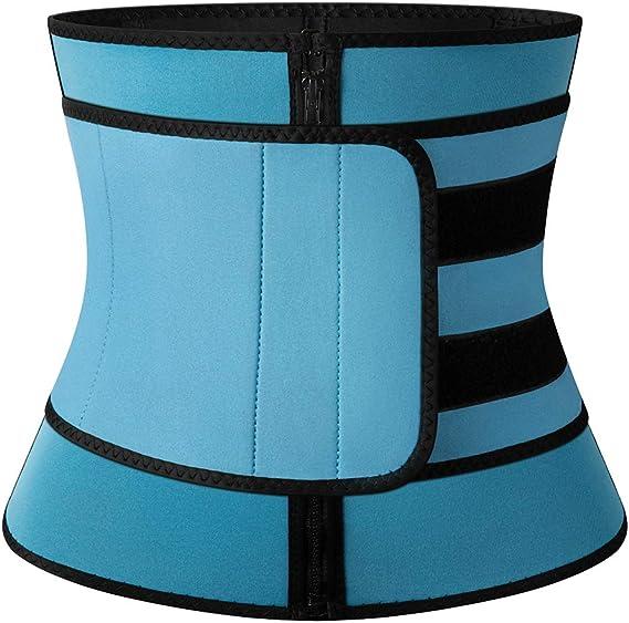 MISS MOLY Sauna Waist Trimmer Belt, Women Workout Waist Trainer