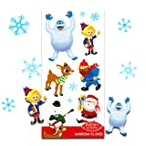 Amazon Price History for:Rudolph the Red Nose Reindeer Christmas Winter Window Clings - 12 Piece
