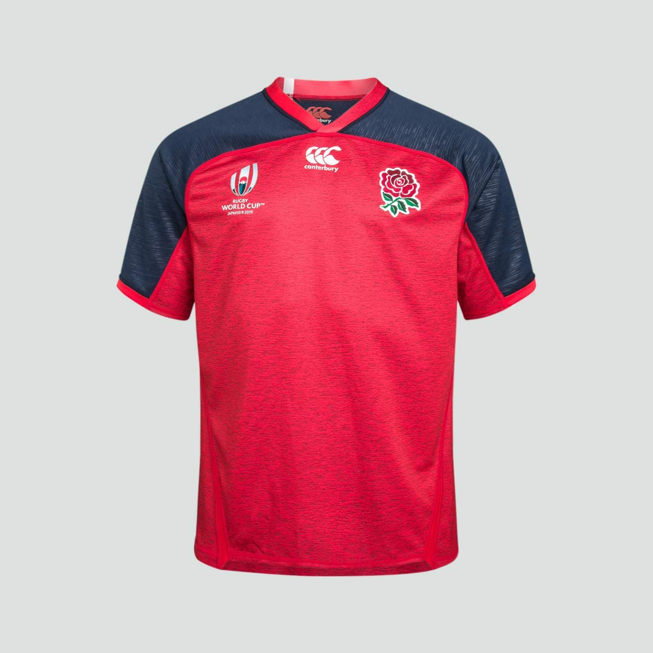 Canterbury of New Zealand Kids England Rugby World Cup 2019 Vapodri Alternate Long Sleeve Jersey, Union Red Marl, 12: Amazon.es: Ropa y accesorios