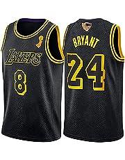 Basketball Jersey, Lakers # 8# 24 NBA Commemorative Jersey Black Mamba Jersey Breathable Embroidered Custom Edition Jersey