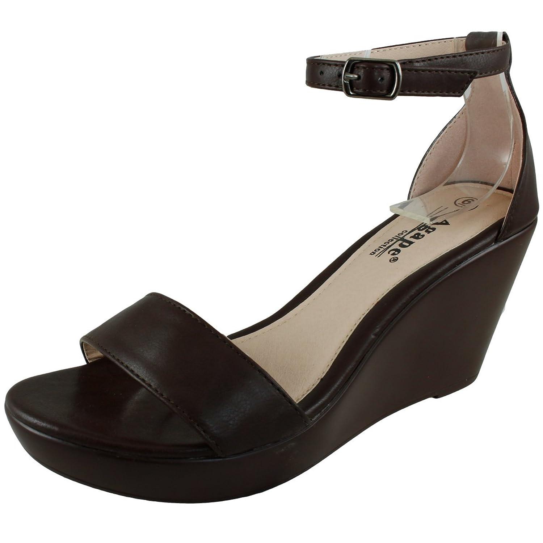 2dbce90971f cheap Agape Pamela-22 Ankle Strap Wedge Sandal - appleshack.com.au