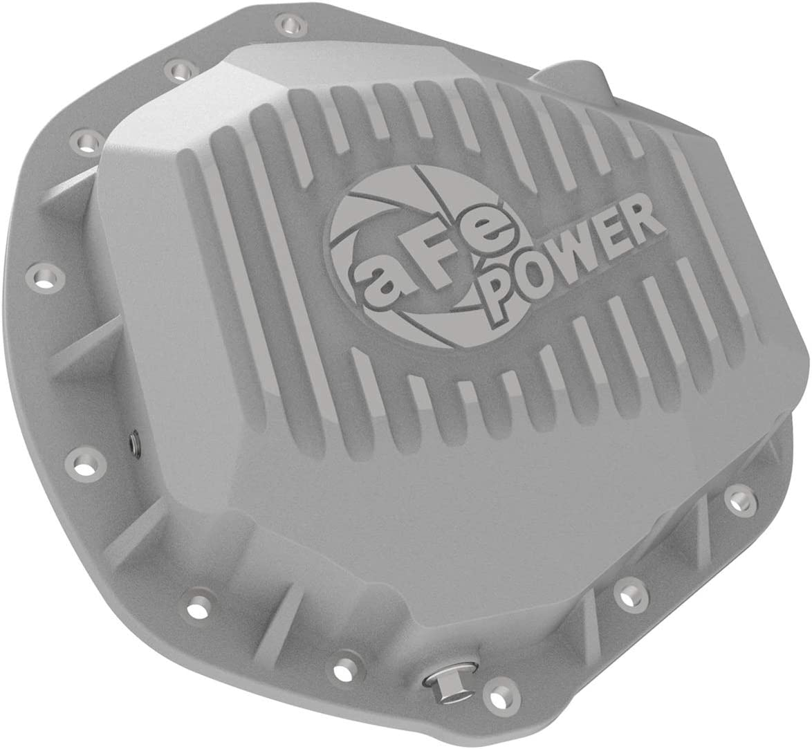aFe Power 46-70390 Street Series Rear Differential Cover Raw w//Machined Fins