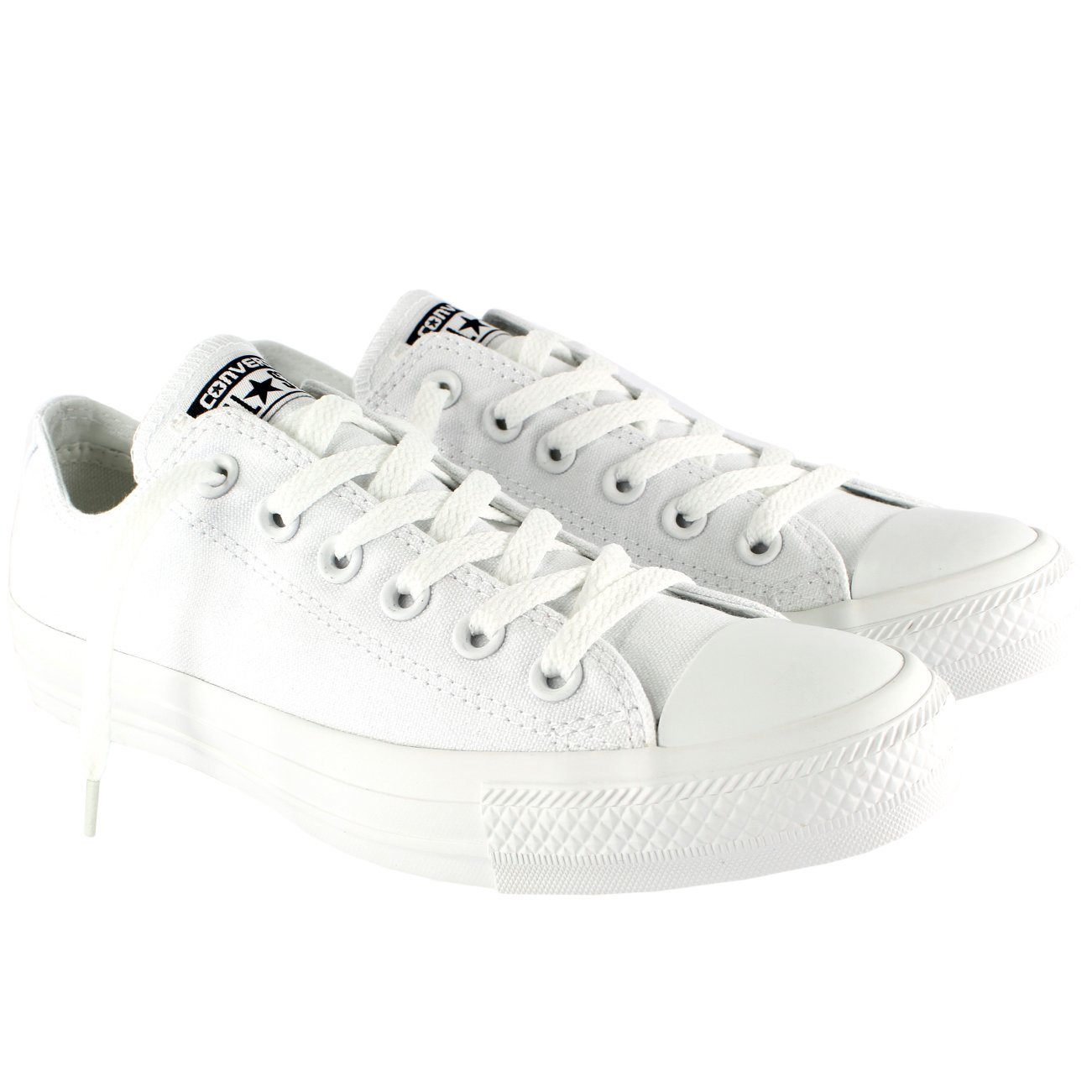 577d9c3297b5 Galleon - Converse Unisex Chuck Taylor All Star Low Top White Mono Sneakers  - 7.5 D(M) US