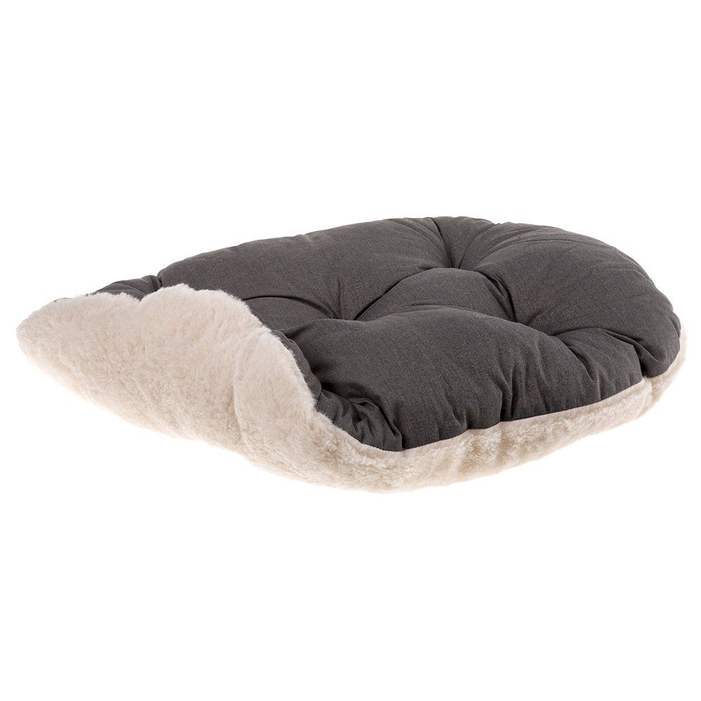Ferplast Relax F 65/6 Gato y Perro Cama, algodón/Piel, 65 x 42 cm, Color marrón: Amazon.es: Productos para mascotas