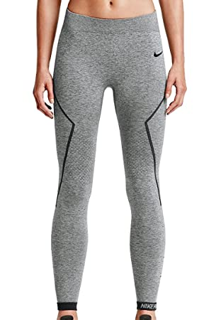 buy popular f617a 5c59d Nike Pro Hyperwarm Limitless Women s Training Tights - Heather Warm  Grey Black-L