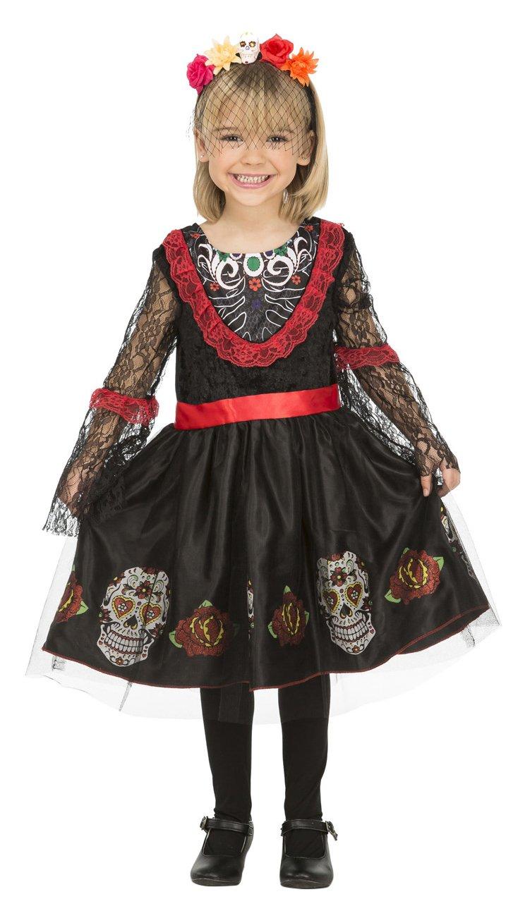 My Other Me Me-204030 Disfraz de señorita Día de los Muertos, 5-6 ...