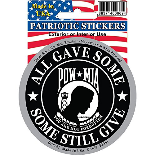 POW-MIA-Car-Decal-You-Are-Not-Forgotten-All-Gave-Some-Some-Still-Give-Sticker-Military-Patriotic-Gifts