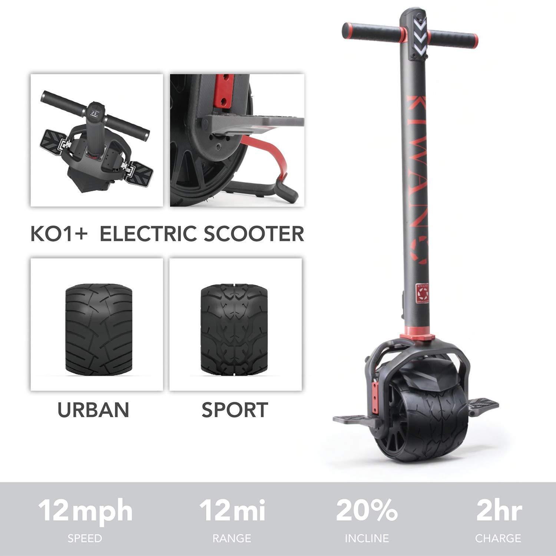 Amazon.com: Kiwano KO1 Plus - Patinete eléctrico de una ...
